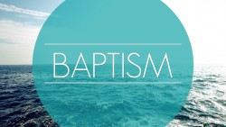 Outside Service and Baptism 2016